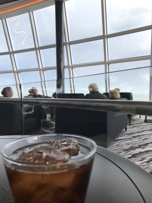 Happy hour in the Observation Lounge!