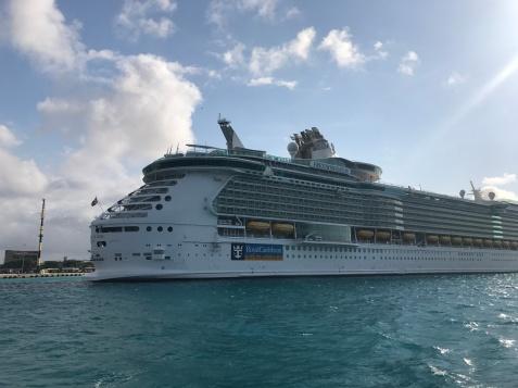 Such a beautiful cruise ship!